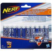 NERF N-Strike Elite 10 db-os szivacslövedék utántöltő - KÉK