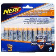 NERF N-Strike Elite 10 db-os szivacslövedék utántöltő - SZÜRKE
