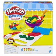 Play-Doh Kitchen Creations gyurma szeletelő készlet