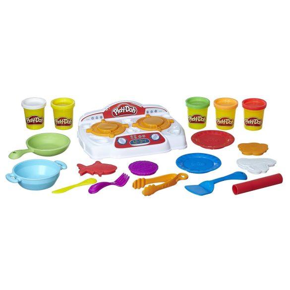 Play-Doh Kitchen Creations - SISTERGŐ TűZHELY gyurmaszett