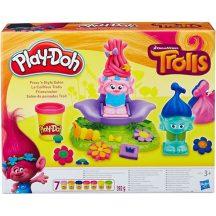 Play-Doh: Trollok - Fodrászat gyurmakészlet