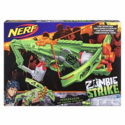 NERF Zombie Strike Outbreaker Bow szivacslövő játékíj