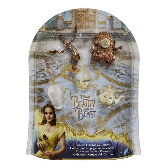 Disney Hercegnők Szépség és a Szörnyeteg játékszett - KASTÉLYBARÁTOK KOLLEKCIÓ