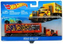 Hot Wheels Szuper szállítóautók - ROAD ROLLER