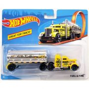 Hot Wheels Track Stars szállítóautó - Fuel & Fire