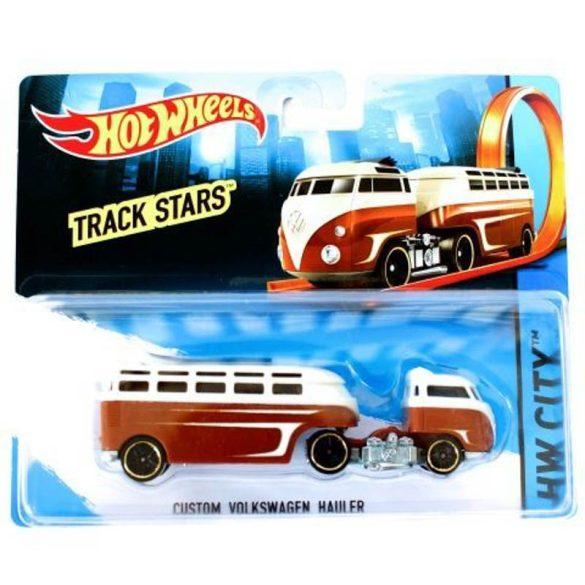 Hot Wheels Track Stars szállítóautó - CUSTOM VOLKSWAGEN HAULER