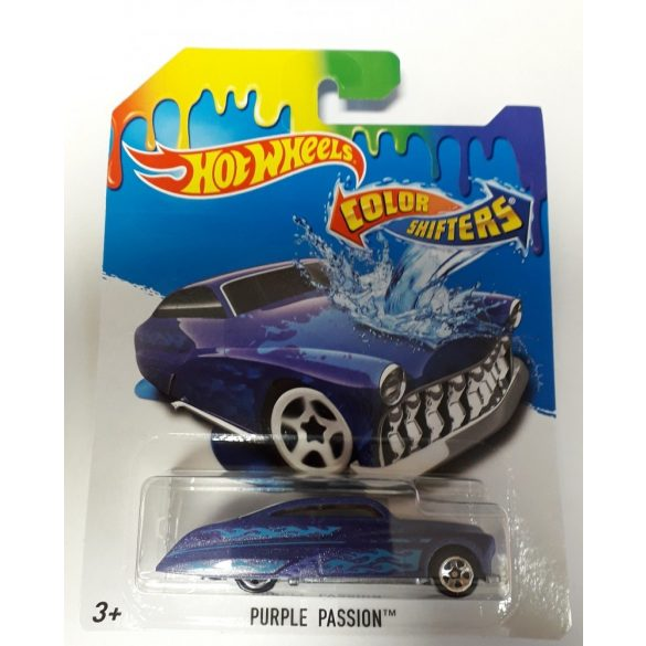 Hot Wheels Colour Shifters színváltós kisautó - Purple Passion