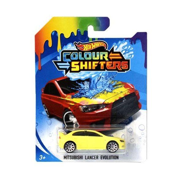 Hot Wheels Colour Shifters színváltós kisautó - Mitsubishi Lancer Evolution