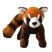 Vörös panda plüssfigura (15 cm)