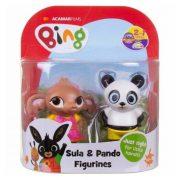 Bing és barátai 2 darabos figura szett - Pando és Sula