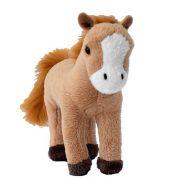 Barna ló plüss figura (15 cm)