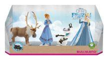 Bullyland játék figura készlet 12936 Jégvarázs: Olaf karácsonyi kalandja - 4 db-os figuraszett