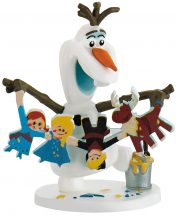 Bullyland játék figura 12943 Jégvarázs: Olaf karácsonyi kalandja - OLAF KARÁCSONYI KÉPPEL