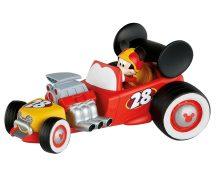 Bullyland játék figura 15459 Mickey és a versenyzők - MICKEY VERSENYAUTÓBAN
