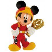 Bullyland játék figura 15461 Mickey és a versenyzők - MICKEY AUTÓVERSENYZŐ