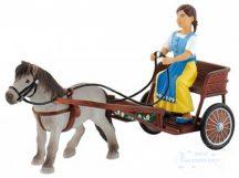 Bullyland játék figura 62700 Falabella póni és kocsi Sophieval