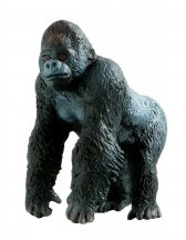 Bullyland játék figura 63699 Ezüsthátú gorilla
