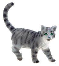 Bullyland játék figura 66363 Britt kék-krém macska - Minka