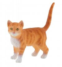 Bullyland játék figura 66371 Amerikai rövidszőrű cica