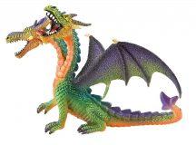 Bullyland játék figura 75596 Kétfejű sárkány (zöld)