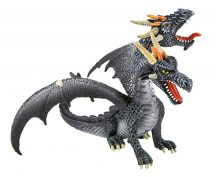 Bullyland játék figura 75597 Kétfejű sárkány (fekete)