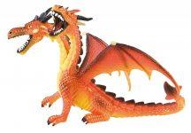 Bullyland játék figura 75598 Kétfejű sárkány (narancssárga)