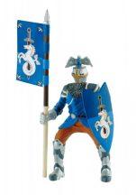 Bullyland játék figura 80785 - Unicorn kék zászlóvivő