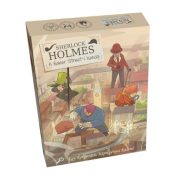 Képregényes kalandok - Sherlock Holmes A Baker Street-i banda társasjáték
