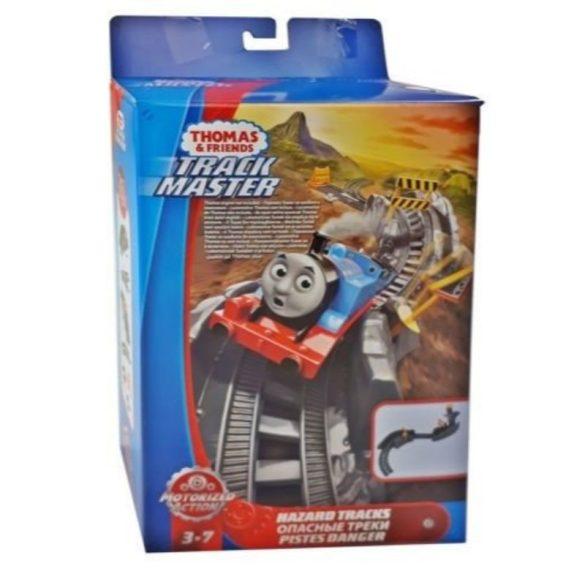 Thomas és barátai TrackMaster Veszélyes pályaszakasz kiegészítő síncsomag