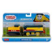 Thomas és barátai TrackMaster - Motorizált Rebecca mozdony rakománnyal