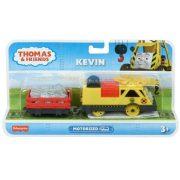 Thomas és Barátai Trackmaster - Kevin fém mozdony rakománnyal