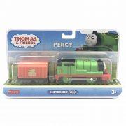Thomas és barátai TrackMaster - Motorizált Percy mozdony rakománnyal