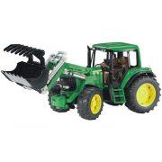 Bruder 02052 John Deere 6920 traktor homlokrakodóval