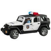 Bruder 02526 Jeep Wrangler Unlimited Rubicon rendõrségi jármû rendõrrel