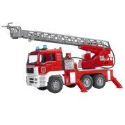 Bruder 02771 MAN TGA tűzoltóautó vízpumpával, hang és fényeffekttel