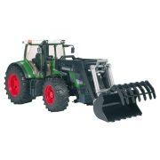 Bruder 03041 Fendt 936 Vario traktor homlokrakodóval