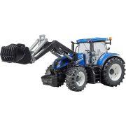 Bruder 03120 New Holland T7.315 traktor markolóval