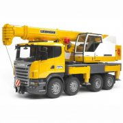 Bruder 03570 Scania R-szériás Liebherr darus teherautó