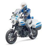 Bruder 62731 Bworld Scambler Ducati rendőrmotor rendőrrel
