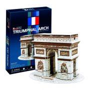 CubicFun C045 3D mini puzzle - Triumphal Arch Diadalív (26 db)