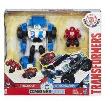 Transformers - Robots in Disguise CombinerForce játékszett - TRICKOUT és STRONGARM