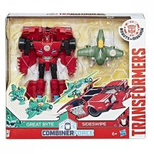 Transformers - Robots in Disguise CombinerForce játékszett - GREAT BYTE és SIDESWIPE