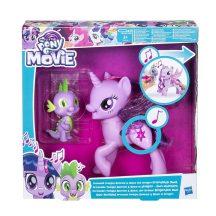 My Little Pony játékszett - A két barát, Twilight Sparkle hercegnő és Spike, a sárkány duettje