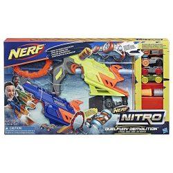 NERF Nitro szivacs kisautó játékszett - RING of FIRE