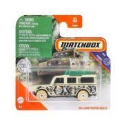 Matchbox Jungle - '65 Land Rover Gen II kisautó