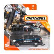 Matchbox City - 2016 Ford Interceptor Utility Rendőrautó