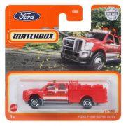 Matchbox 29/100 - Ford F-550 Super Duty kisautó