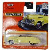 Matchbox 34/100 - 1941 Cadillac Series Convertible Coupe kisautó