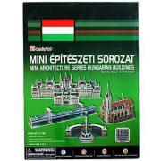 CubicFun C179 3D mini puzzle - Magyar épületek (155 db-os)