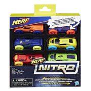 NERF Nitro szivacs kisautó készlet 1. (6 db-os)